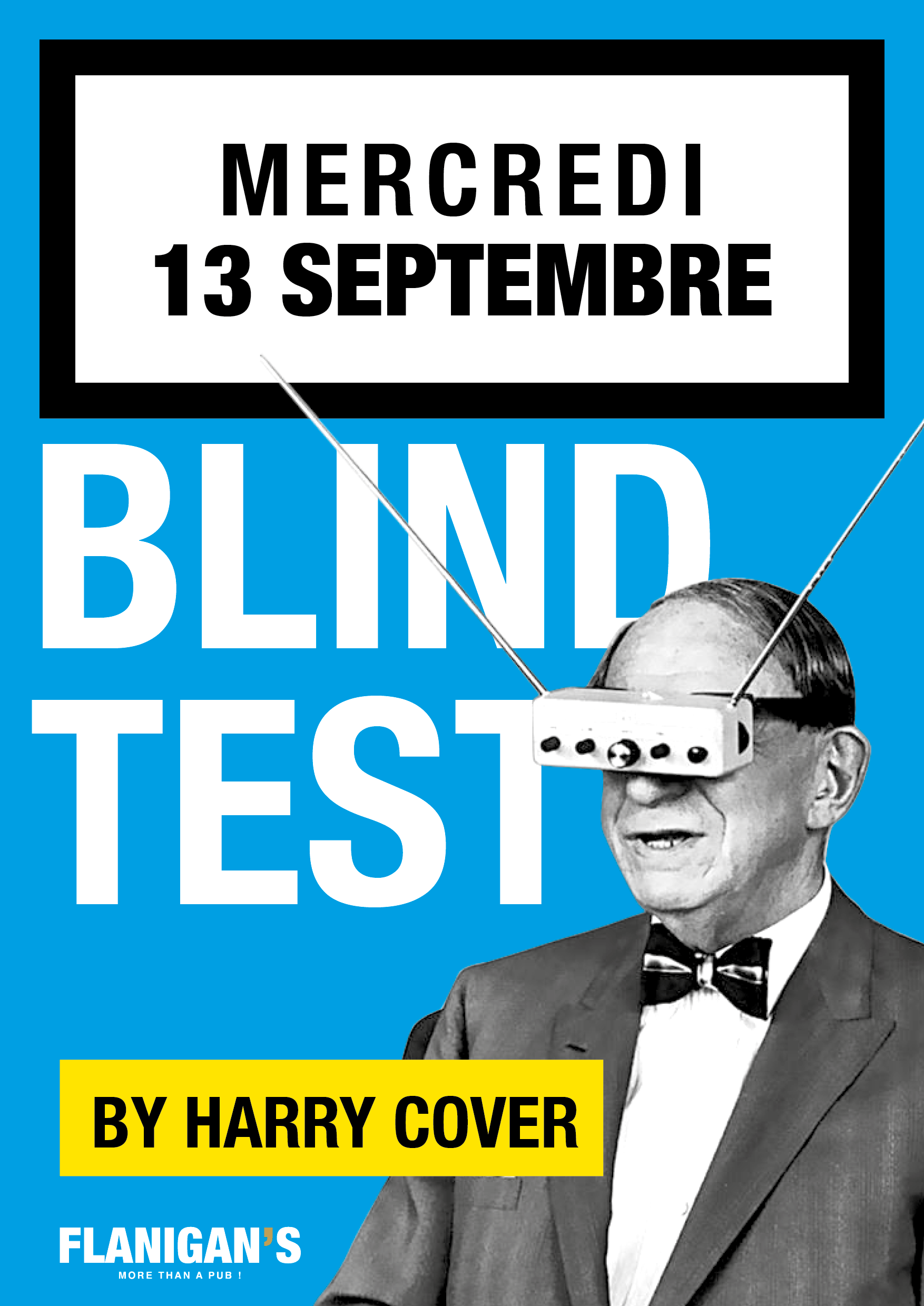 Blind Test by Harry Cover @ Flanigan's Pub !