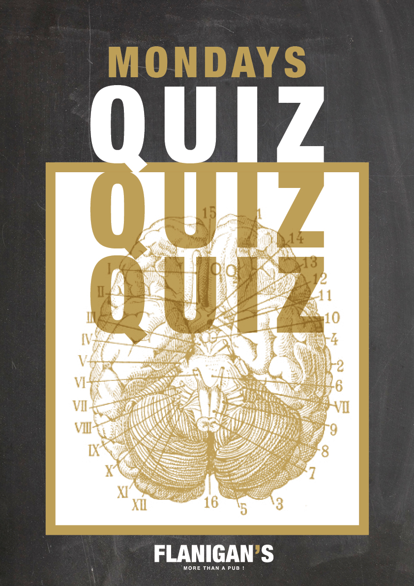 Quiz Night // Tous les lundis !